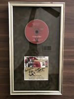 Ashford and Simpson Signed Autograph Unity Ball 2005 Album Framed CD Display