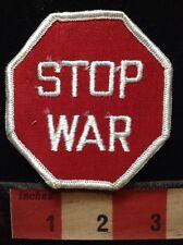 Hippie Jacket STOP WAR Patch ~ Stop Sign Peace C60L