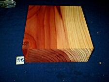 Redwood Mammutbaum schöne Zeichnung drechseln Drechselholz Nr. 913