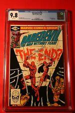 DAREDEVIL #175 CGC 9.8 NM/MT W PGS GREAT FRANK MILLER COVER MARVEL COMICS