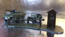 * Minitank 851 Checkpoint Set USA Military Police 1:87 HO