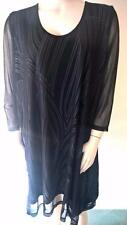 Ts Taking ShapePlus Size L Stylish Tunic Dress With Mesh Overlay New With Tag