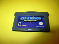Metroid: Zero Mission Game Boy Advance Gameboy SP Game