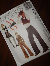 McCALLS NY 4156 Pants Skirt Tops Patterns FF UC JD 11/12 - 17/18 Juniors Sewing