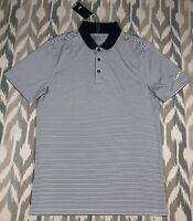 Nike Golf Men's Victory Stripe Standard Fit Short Sleeve Polo Shirt Size S Small