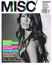 MISC Magazine Spring 2011 FRIDA ASTRID Design Thinking Inovation STEVE JOBS @New