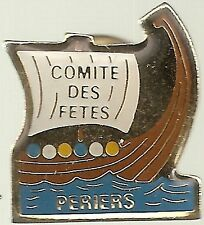 Periers Comite des Fetes - French Hat Lapel Pin HP2528
