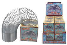7cm SUPERETRO MAGIC METAL SPRING - TY2168 SPRINGY SLINKY RETRO CLASSIC KIDS FUN