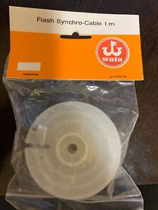 WATA FLASH SYNCHRO CABLE NEW SEALED Made in Germany1M