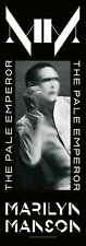 Marilyn Manson The Pale Emperor Fabric Door Poster 53cm x 150cm (hr)