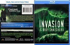 Invasion of the Body Snatchers ~ New Blu-ray ~ Donald Sutherland (1978)