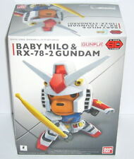 Bandai a Bathing Ape AAPE SD Gundam Ex-standard Baby Milo & Rx-78-2 Model Kit