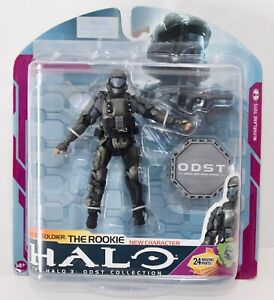 Halo 2009 Wave 3 - Series 6 ODST Soldier The Rookie (New)