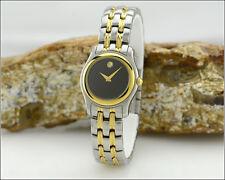 Classic Lady's MOVADO Museum 81 E4 0822 Two Tone Watch