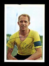 Wolfgang Paul Borussia Dortmund Bergmann sammelbild 1967 ORIGINALE SIG + a 159803