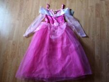 NEW Disney Store PRINCESS SLEEPING BEAUTY DRESS L 9/10 Halloween Costume AURORA