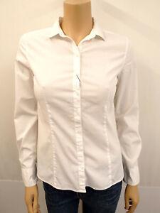 MARC O´POLO MOP Designer Bluse Gr.36 Blouse Baumwollmischung Weiß