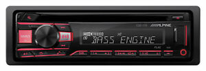 ALPINE CDE-170 Single-Din In-Dash Car CD Receiver Stereo Android/MP3/WMA/USB/AUX