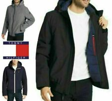 NEW! Mens Tommy Hilfiger Soft-Shell Bomber Jacket Size &...