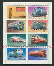 KOREA EISENBAHN 1976 ABART !! ERROR !! TRAIN RAILWAY LOK d6630