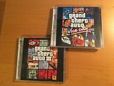 Grand Theft Auto Vice City and Grand Theft Auto 3 bundle- PC CD