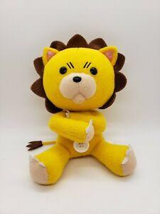 "BLEACH KON PLUSH • Rare Arms Crossed 8"" Doll Anime Lion Stuffed Animal Japan"