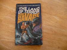"DOC SAVAGE # 8 ""THE LAND OF TERROR"" - 7TH PRTG 6/75 - BANTAM PB - GOOD SHAPE"