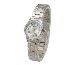 -Casio LTPV002D-7B Ladies' Metal Fashion Watch Brand New & 100% Authentic