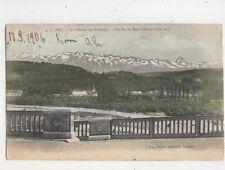 Pau Chaine de Pyrenees Le Pic du Midi d'Oiseau France 1906 Postcard 882a