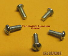 American Flyer, Switch housing repair screws for 720 and 720A (5) (NEW)