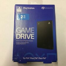Seagate 2TB Game Drive for PlayStation 4, Black #STGD2000100