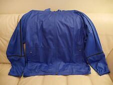 NEW WT Men's Nike Golf Windproof Zip Up jacket BLUE SIZE 3XL 582788 491 STRETCH