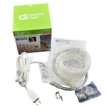 Commercial Electric Outdoor/Indoor 8 ft. Soft White Flexible LED Rope Light