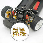 10 Pieces Front Rear Lower Arm Rear Wheel Seat for LC Racing Ptg-2 1/10 RC