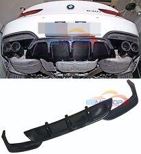 UNPAINTED Rear Lip Diffuser For BMW F06 F12 F13 M Sport M Tech Bumper 12UP b203F