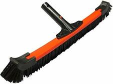 """Lalapool Swimming Pool Wall & Tile Brush,Extra Wide 20"""" Light Handle Poly Carbon"""