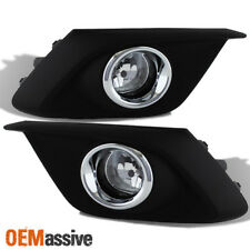 Fit 2014-2016 Mazda 3 Mazda3 4/5Dr Bumper Fog Lights W/Switch+Bulbs Replacement (Fits: Mazda)