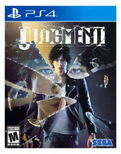 PLAYSTATION 4 JUDGMENT 2019 BRAND NEW VIDEO GAME ships today