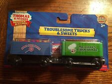 Troublesome Trucks & Sweets for the Thomas & Friends Wooden Railway New in Pkg.!