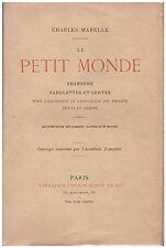 MARELLE Charles - LE PETIT MONDE- 100 GRAVURES