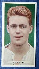 Derby County truffatori ORIGINALE 1934 vintage colore CALCIATORE CARD