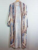 [ TULIPS ] Womens Snakeskin Embellished Kimono Jacket NEW | Size AU 8 or US 4