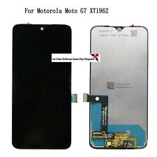 For Motorola Moto G7 XT1962 LCD Screen Display Touch Digitizer Assembly Replace