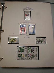 GREAT BRITAIN 60'S & 70'S MINT STAMPS