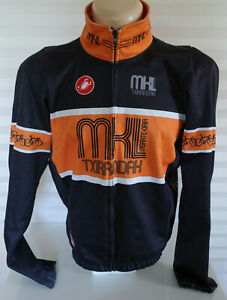 Castelli Gore Windstopper MKL Thermal Cold Weather Cycing Jacket Italian Made XL