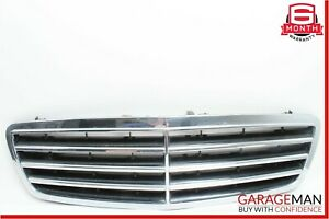 05-07 Mercedes W203 C230 C350 Front Hood Radiator Grille Grill Trim Cover Chrome