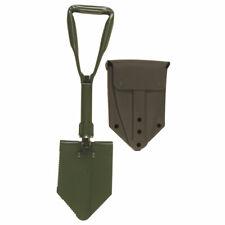 BW Bundeswehr Klappspaten mit Original Tasche Spaten Feldspaten oliv mit Hülle