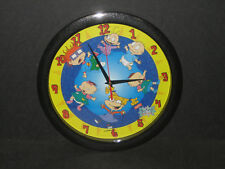 RUGRATS MOVIE 1999 Rugrats Clock Nickelodeon BY CRYSTAL CRAFT QUARTZ CLOCK *NEW*