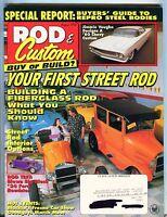 Rod & Custom Magazine August 1995 First Street Rod EX w/ML 100416jhe