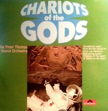 PETER THOMAS SOUND ORCHESTRA  LP CHARIOTS OF THE GODS RECORD IN MINT CONDITION
